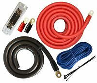 SoundBox Connected 0 Gauge Amp Kit Amplifier Install Wiring Power Only 0 Ga Wire