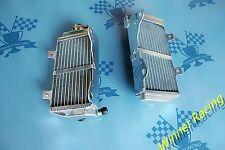 Right+Left Aluminum Alloy Radiator Fit HONDA CRF250R CRF 250 R 2016-2017 BRACED