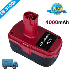 19.2V For Craftsman 4.0Ah C3 XCP Lithium Battery Pack 11375 11376 130279005