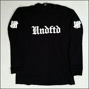 Undefeated Long-Sleeve T-Shirt | Large | Navy Blue | Rare