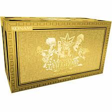 YuGiOh! Legendary Decks II 2 - Yugi + Kaiba + Joey - Egyptian God cards - 1st Ed