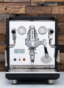 Refurbished ECM Synchronika Dual Boiler Espresso Machine in Anthracite