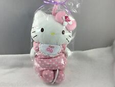 Hello Kitty Plush Crib Musical Pink Pull Down for Baby Snuggle Collection Sanrio