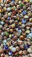 12 Fancy Shooters D.A.S. Alley Agate Silverback Marbles 6-7-19 Exquisite Marbles
