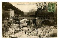 CPA 07 Ardèche Vals-les-Bains La Volane animé