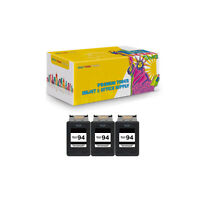 3Pack Compatible C8765WN Black Ink Cartridge for HP 94 Deskjet 5740 6520 6540