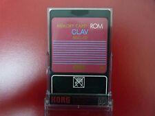 KORG SGC-02 'CLAV' MEMORY CARD ROM for Korg SG series New Old Stock
