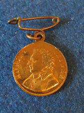 Medalla Vintage - 1930 Jubileo de terceros-Robert Raikes-Escuela Domingo