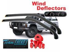 Wind deflectors NISSAN Patrol Y60  3/5D 1887 - 1997  2.pc HEKO 24206 FRONT DOORS