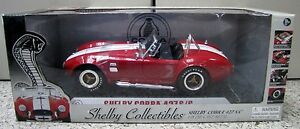 Shelby Collectibles 1/18 Die Cast Shelby Corba 427S/C(Red w/White Line)