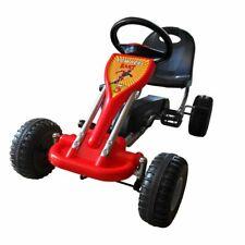 vidaXL Kart Correpasillos Pedales Rojo Bebés Niños Infantil Andadores Hogar