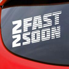 Fast and Furious Paul Walker Sticker Decal Car Window Vinyl RIP Bumper Van Tuner