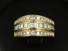 Brillant Diamant Carre Ring ca. 1,50ct Ringweite 50   8,5g 750/- Gelbgold