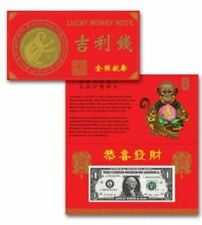 Year of the Monkey 2016 $1  Lucky Money