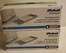 2 Pack iRobot Braava Jet Wet Mopping Pads 10 pack each 20 total-New