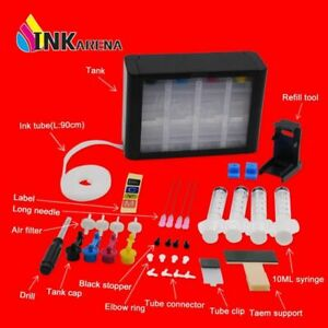 Ciss Ink Kit Tank Continuous Ink Supply System Replacement for Canon PG440 CL441