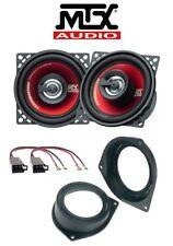 MTX Kit de 2 arcas 10cm FIAT FIORINO con adaptadores PHONOCAR > TRASEROS