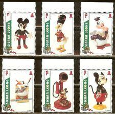 Mint Disney Sierra Leone cartoons stamps  (MNH)