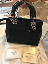 AUTHENTIC Dior lady bag (crossbody) in black - limited edition RRP: £3500