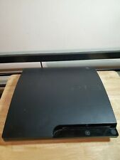 Sony PlayStation 3 PS3 Slim Console Black CECH-3001A 160GB CONSOLE ONLY Read