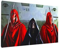 Darth Sidious Canvas HD Art Print Wall Decor FRAMED, Fast Shipping,  Star Wars