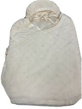 Cocoon Baby Bundle Silk Swaddle, One Size, Soft Pink Hearts, NWT $189