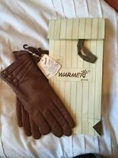 Warmen Wrist Gloves & Mittens Women's Leather