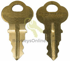 H2001 / 2001 Key Precut Chicago Lock Illinois NEW FACTORY CUT SHIPS FAST