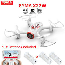 SYMA MINI X22W 2.4G FPV WIFI HD CAMERA RC DRONE WITH HOVER APP CONTROL HEADLESS