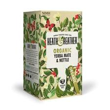 💚 Heath & Heather Organic Yerba Mate & Ortie Infusion 20 bags