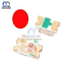 100pcs Smd Smt 0603 Series Red Led Ultra Superbright Color Light Diy Lamp