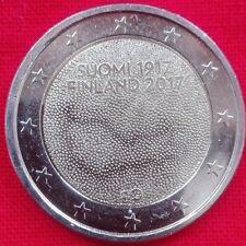*FINLANDIA 2017 2 EURO FDC UNC 100° ANN. INDIPENDENZA FINNLAND SUOMI FINLAND