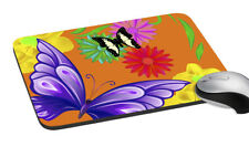 """Butterfly Mouse Pad Rectangle Mouse Mat Design For Computer PC Desk 7.2x8 """""""