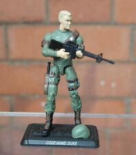 Action Force/GI Joe Duke figure complete with stand