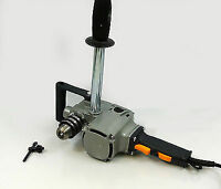 "HEAVY DUTY COMPACT INDUSTRIAL 2 SPEED 5/8"" RIGHT ANGLE DRILL, 8 AMP"