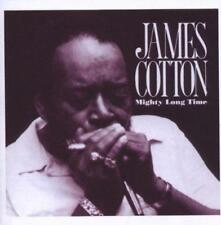 JAMES COTTON - MIGHTY LONG TIME (New & Sealed) CD Blues Reissue