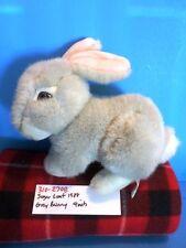 Sugar Loaf Grey Bunny 1988 plush(310-2708)