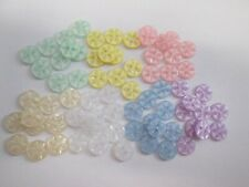 Small Tiny Shank Buttons Crafts 8mm 13L Colour Choice /& Pack Sizes