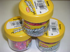 Berkley Powerbait Magnum Power Sparkle Eggs 3 pk FEPSC Pink Trout Fishing Bait
