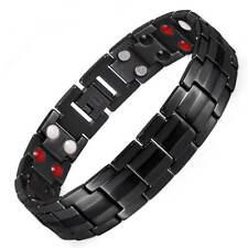 Titanium Magnet Bracelet Men Women 4 element Energy Stress Arthritis Pain Relief