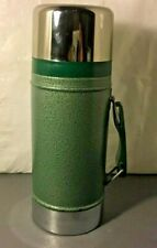 Vintage Aladdin Stanley A-1350B 24 Ounce Wide Mouth Thermos Vacuum Bottle Green