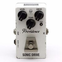 Providence SDR-4 SONIC DRIVE Guitar Effect Pedal Made in Japan