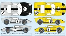 decal 1/43 FORD GT40 MKII Alan Mann Racing Le Mans 1966 RENAISSANCE TK43/20