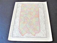 From 1895 Rand McNally Atlas of The World-Map of Pennsylvania & Philadelphia.