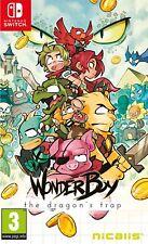 Wonder Boy The Dragon's Trap Nintendo Switch Game (Inc Bonus Items)