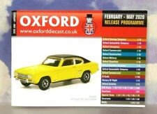 OXFORD DIECAST 48 PAGE POCKET CATALOGUE FEBRUARY TO MAY 2020 RELEASE SCHEDULE