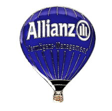 BALLON Pin / Pins - ALLIANZ / D-OBAL [3819]