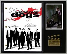 "RESERVOIR DOGS LTD EDITION REPRODUCTION  MOVIE SCRIPT CINEMA DISPLAY ""C3"""