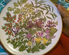 Wedgwood Franklin Porcelain Flowers of the Year February Plate