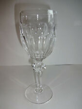 Waterford Curraghmore Crystal Claret Wine Glass Goblet Stemware Clear 7-1/8""